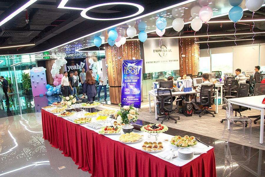 Tổ chức sinh nhật công ty ấn tượng qua dịch vụ nấu tiệc Hai Thụy Catering